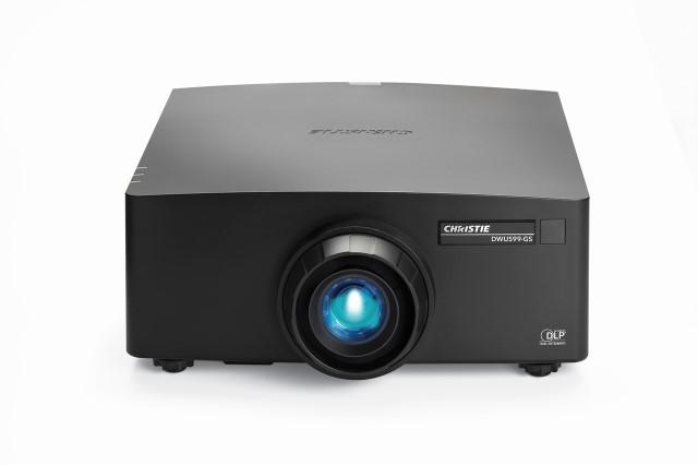 6065 Lumen 1DLP WUXGA Laser Projector in Black - Body Only