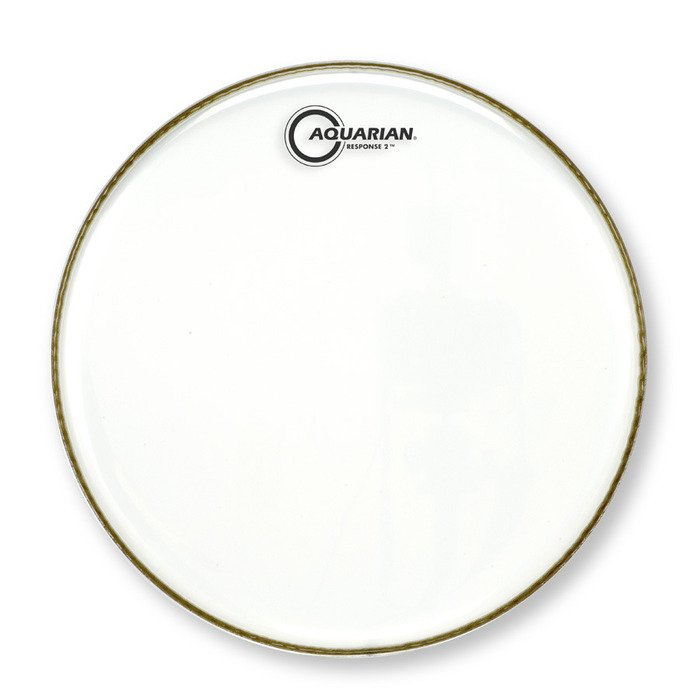 "18"" Response 2 Clear Drum Head"