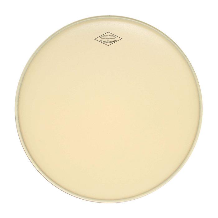 "Aquarian Drumheads MOTC-M15 15"" Modern Vintage Medium Drum Head MOTC-M15"