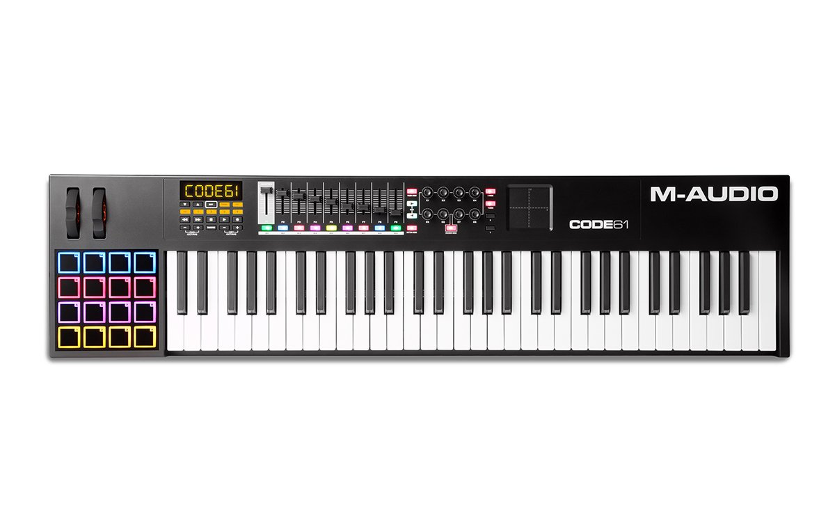 61-Note USB MIDI Keyboard Controller with X/Y Touch Pad