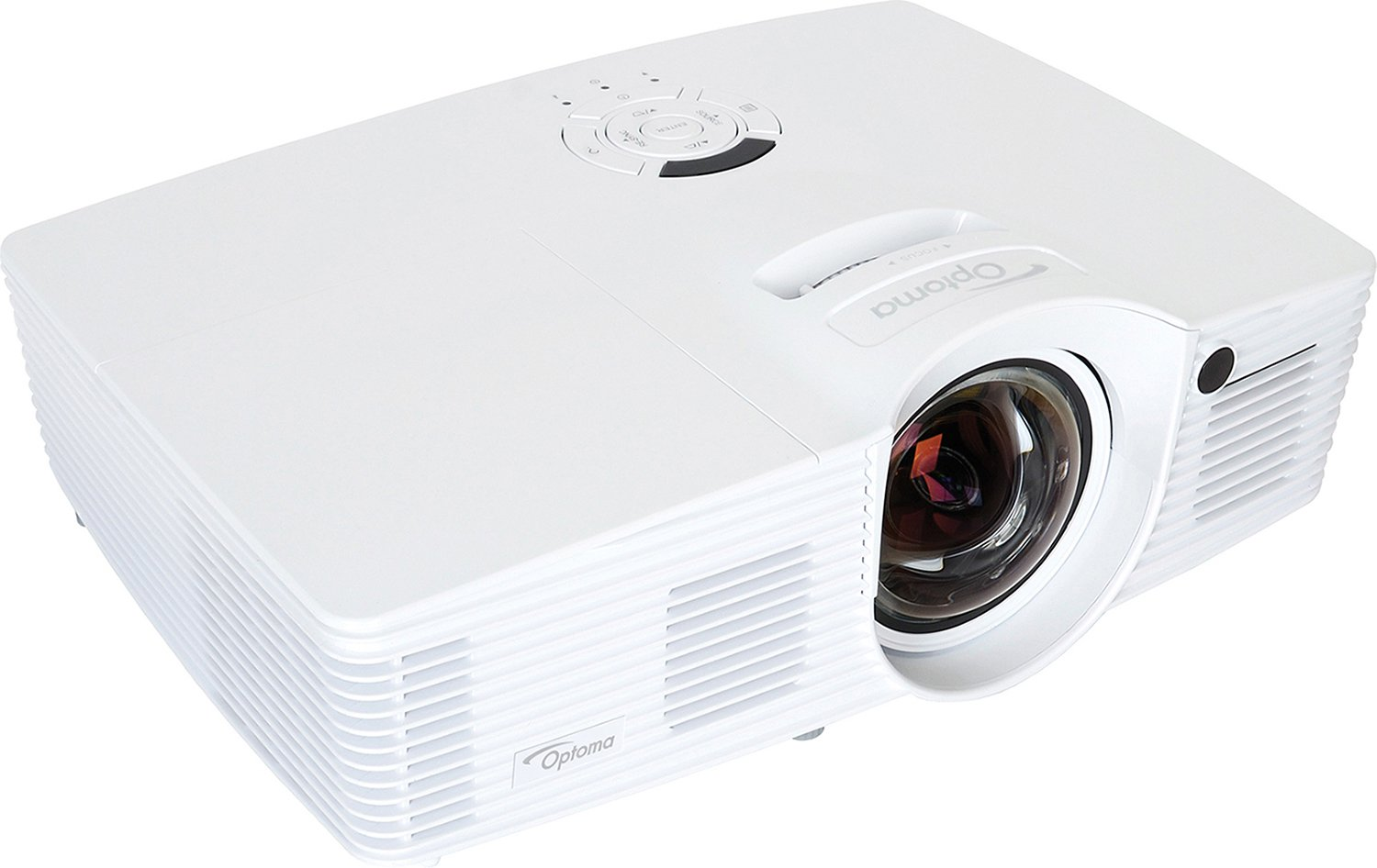 3000 Lumen 1080p Short Throw Projector with Darbee Processing