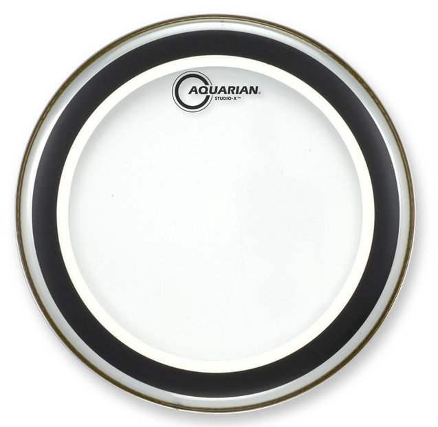 "6"" Studio-X Clear Drum Head"