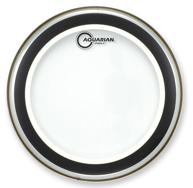 "24"" Studio-X Clear Bass Drum Head"
