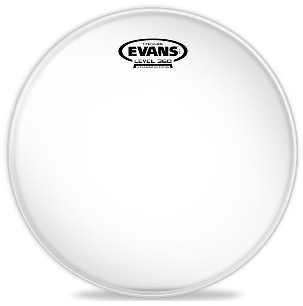 "8"" Hydraulic Glass Clear Drum Head"
