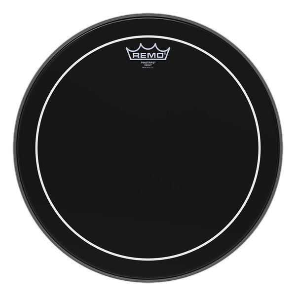 "16"" Ebony Pinstripe Drum Head"