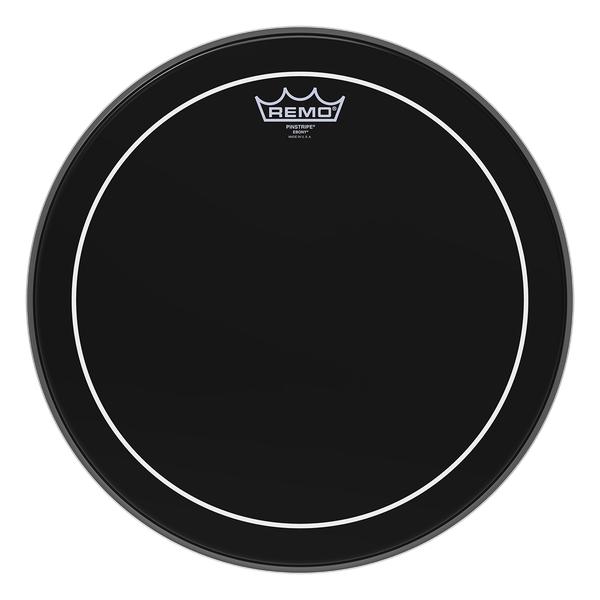 """Remo ES-0612-PS 12"""" Ebony Pinstripe Drum Head ES-0612-PS"""