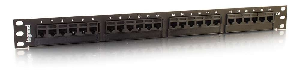 "High Density 1RU 19"" Patch Panel"