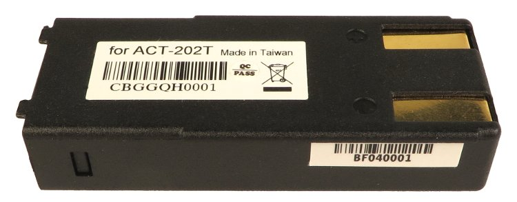 Battery for ACT-202T
