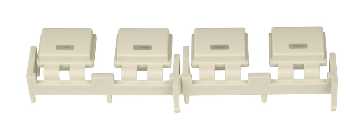 Bank of 4 White Buttons for M7CL
