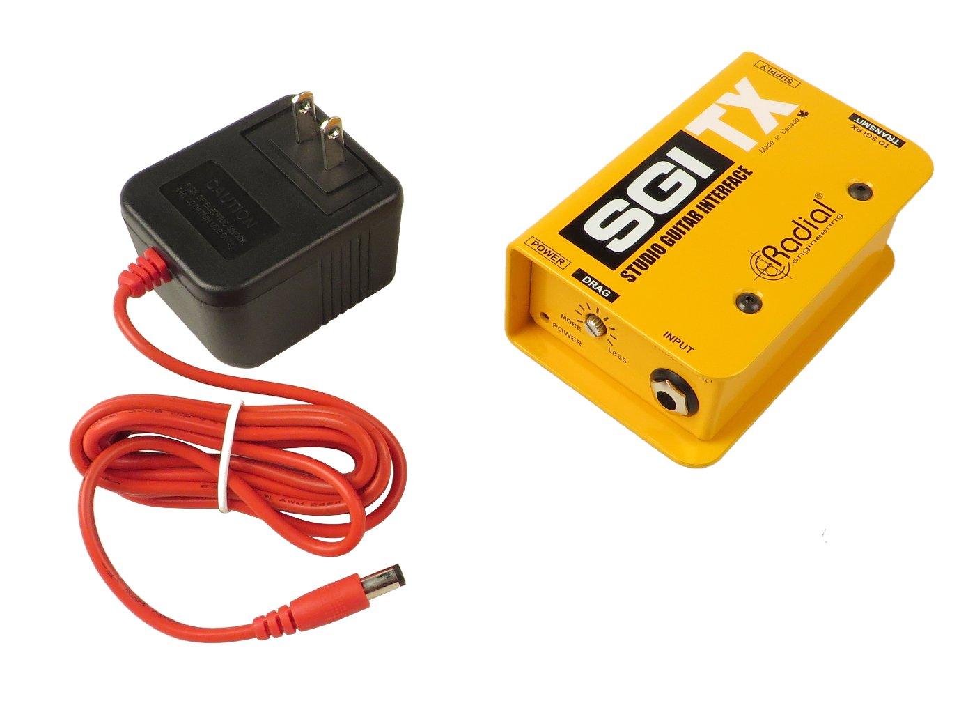 Transmitter for SGI TX