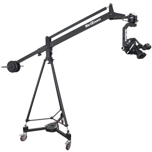 QuickJib Kit Small with MC100 Pan/Tilt Head, TCR100 Tripod, and DCR100 Dolly