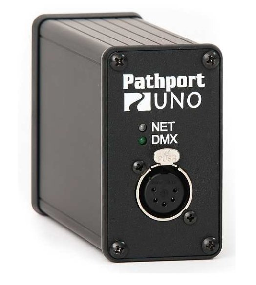 Pathport Portable UNO Gateway with Single XLR5-F Output