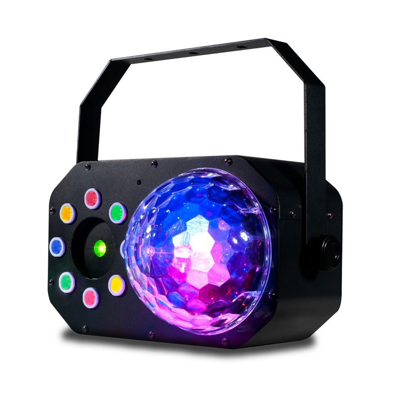 Effect Light, Moonflower, Color Wash & Laser