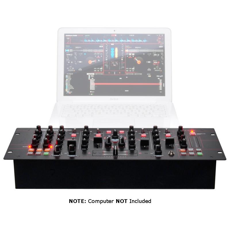 4 Channel DJ Mixer/Controller