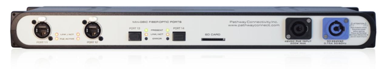 Pathport VIA 12 12-Port Gigabit Ethernet Switch
