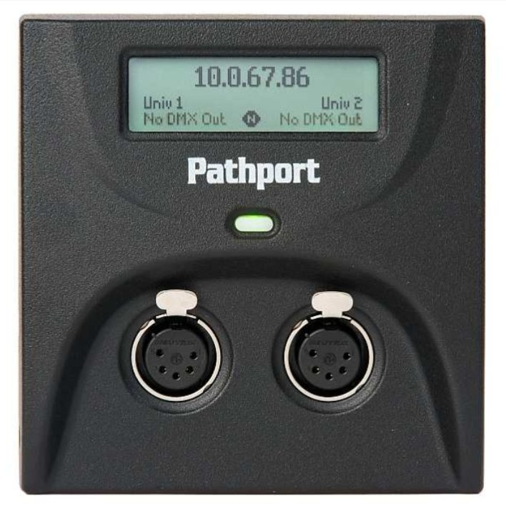 Pathport C-Series Surface Mount Enclosure with Knockouts