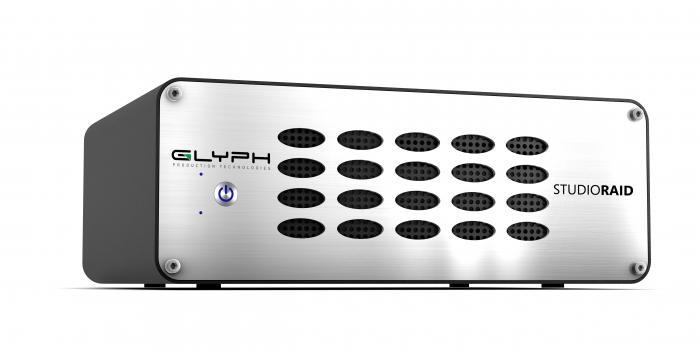 Glyph Technologies StudioRAID SR20000 20TB External Hard Drive, 7200RPM, USB 3, FW800 , eSATA SR20000