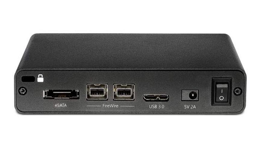 3TB Glyph Studio mini, USB 3.0, FireWire 800, eSATA