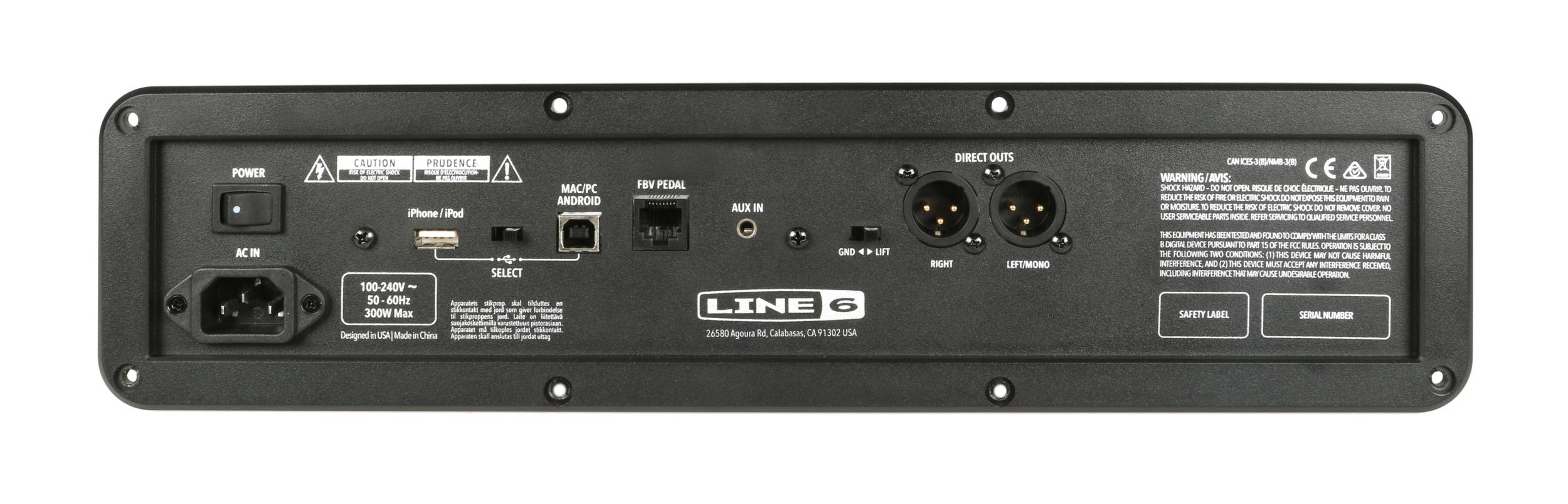 Line 6 50-04-0141 Spider V240 Amp Assembly | Full Compass