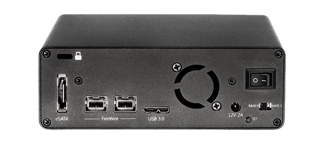 10TB Glyph Studio RAID mini, USB 3, FW800, eSATA