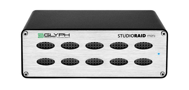 8TB Glyph Studio RAID mini, USB 3, FW800, eSATA