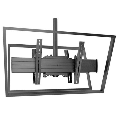 FUSION X-Large Single Pole Flat Panel Ceiling Mount