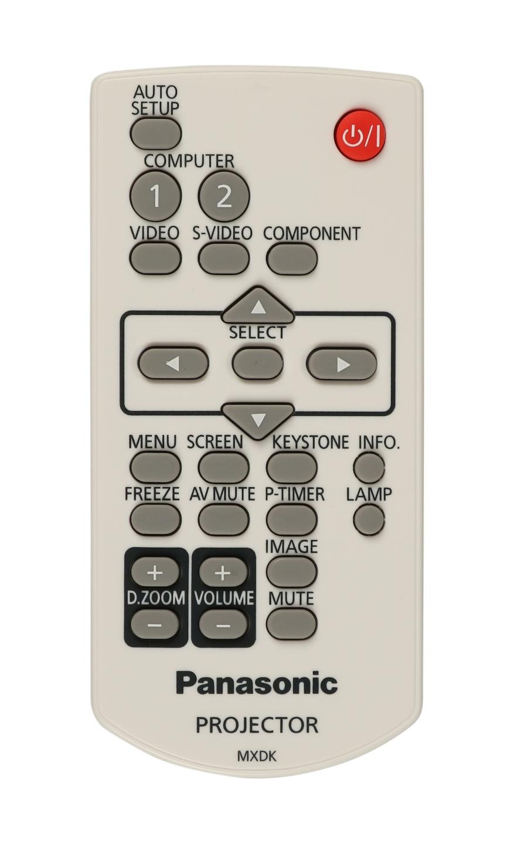 PT-LX30HU Remote