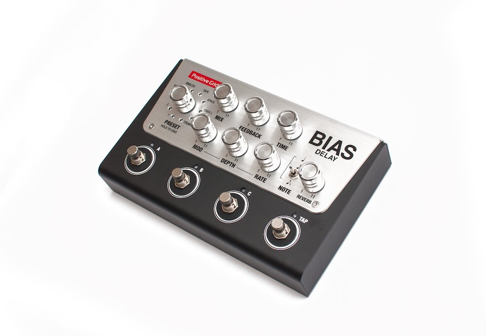 Delay Pedal with BIAS Pedal Delay Pack Software