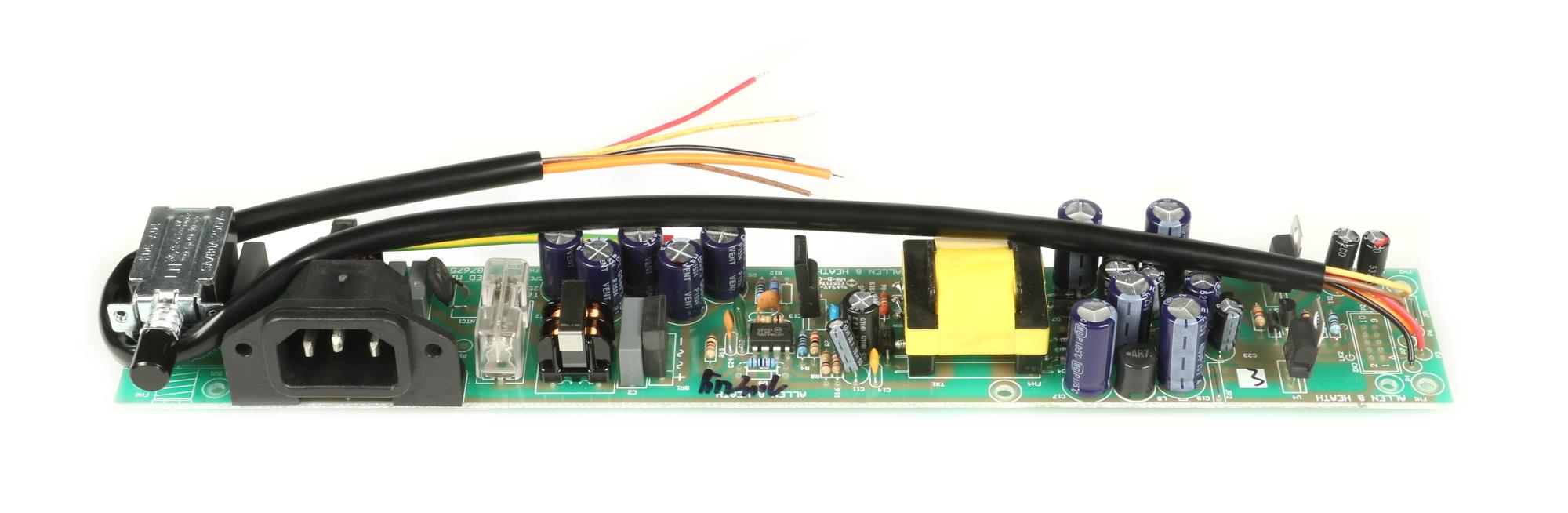 PSU PCB for ZED-10FX