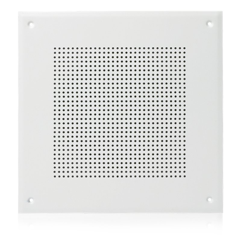 "8"" In-Ceiling Loudspeaker for Fire Signaling with 5-Watt 70V Transformer and U161-8 Baffle"