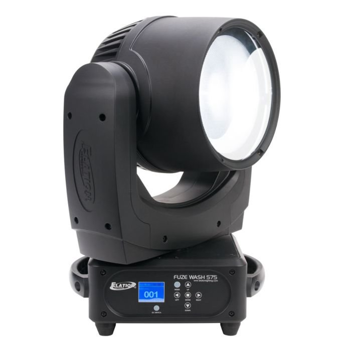 Elation Pro Lighting FUZE WASH 575 350W CW COB Moving Head Wash with Zoom FUZE-WASH-575