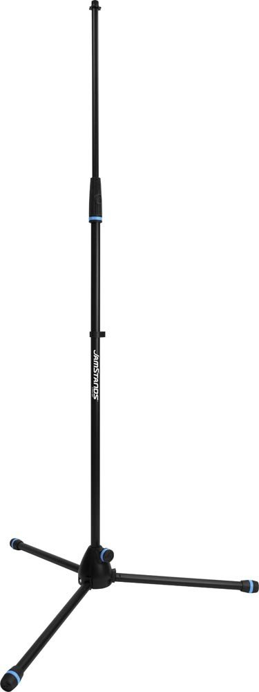 JamStands Series Tripod Mic Stand with Blue Accent Bands