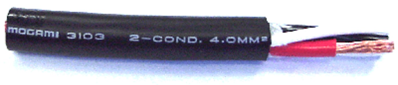 11AWG 2-Conductor Speaker Cable (Priced Per Foot)