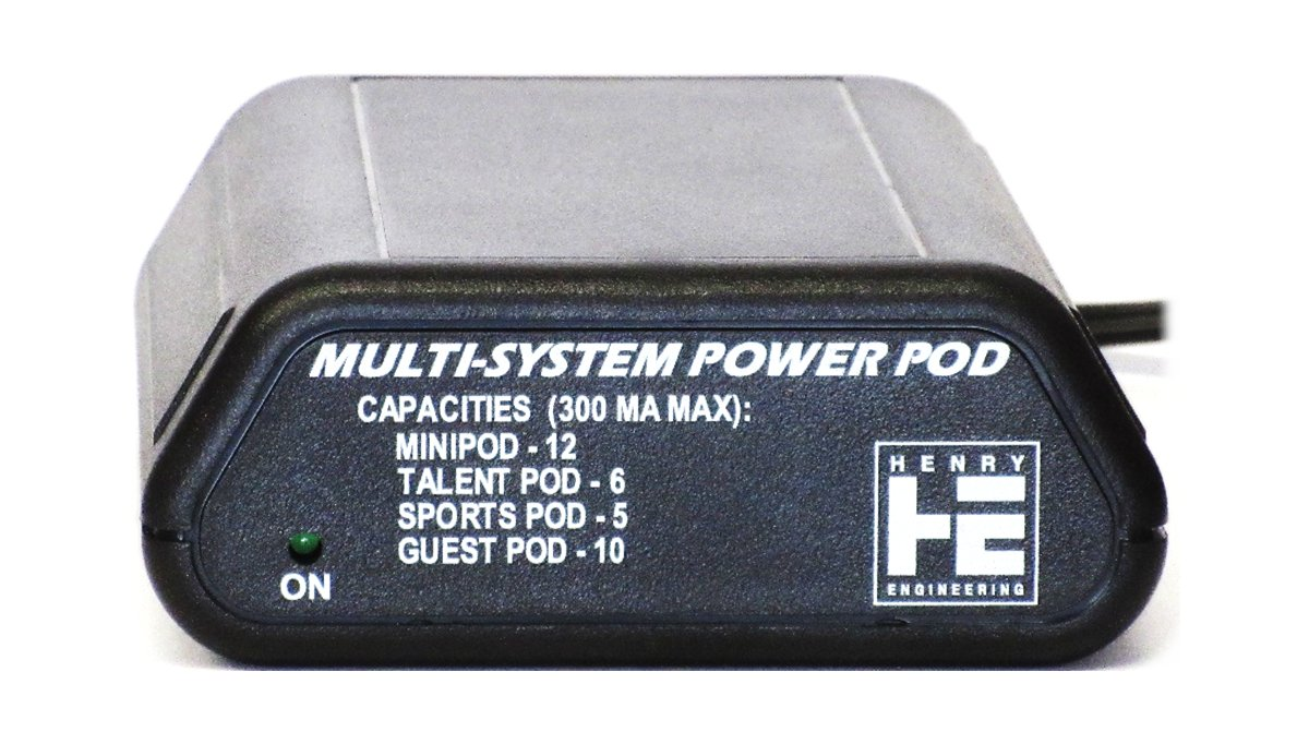 Power Supply for Pod Series Products