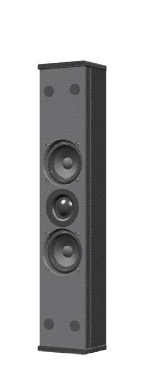 Slim 2-Way Loudspeaker, White