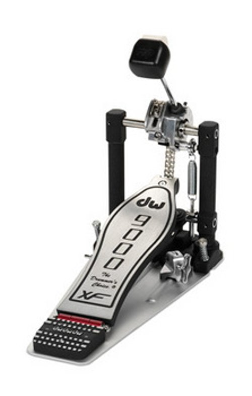 Single Kick Pedal with Extended Footboard