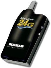 Two Simultalk 24G Beltpacks with Two Cyberset Headsets