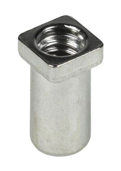 M5.8 Nickel Brass Swivel Nut (12-pack)