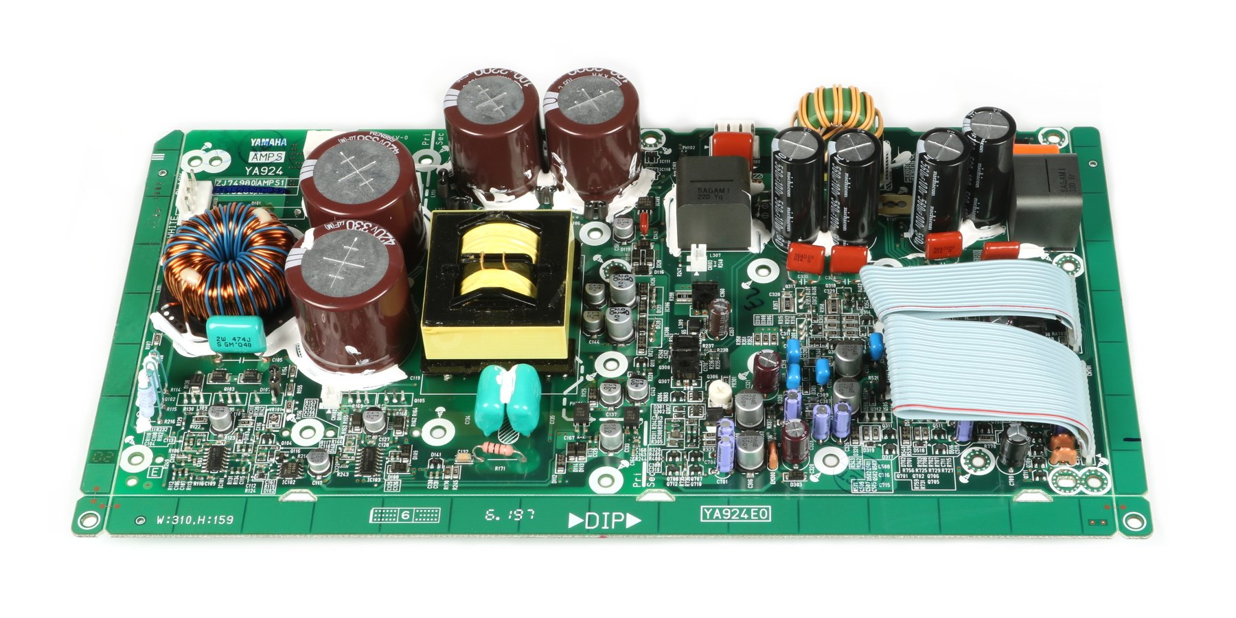 Amp PCB Assembly for DSR112, DSR115, and DSR215