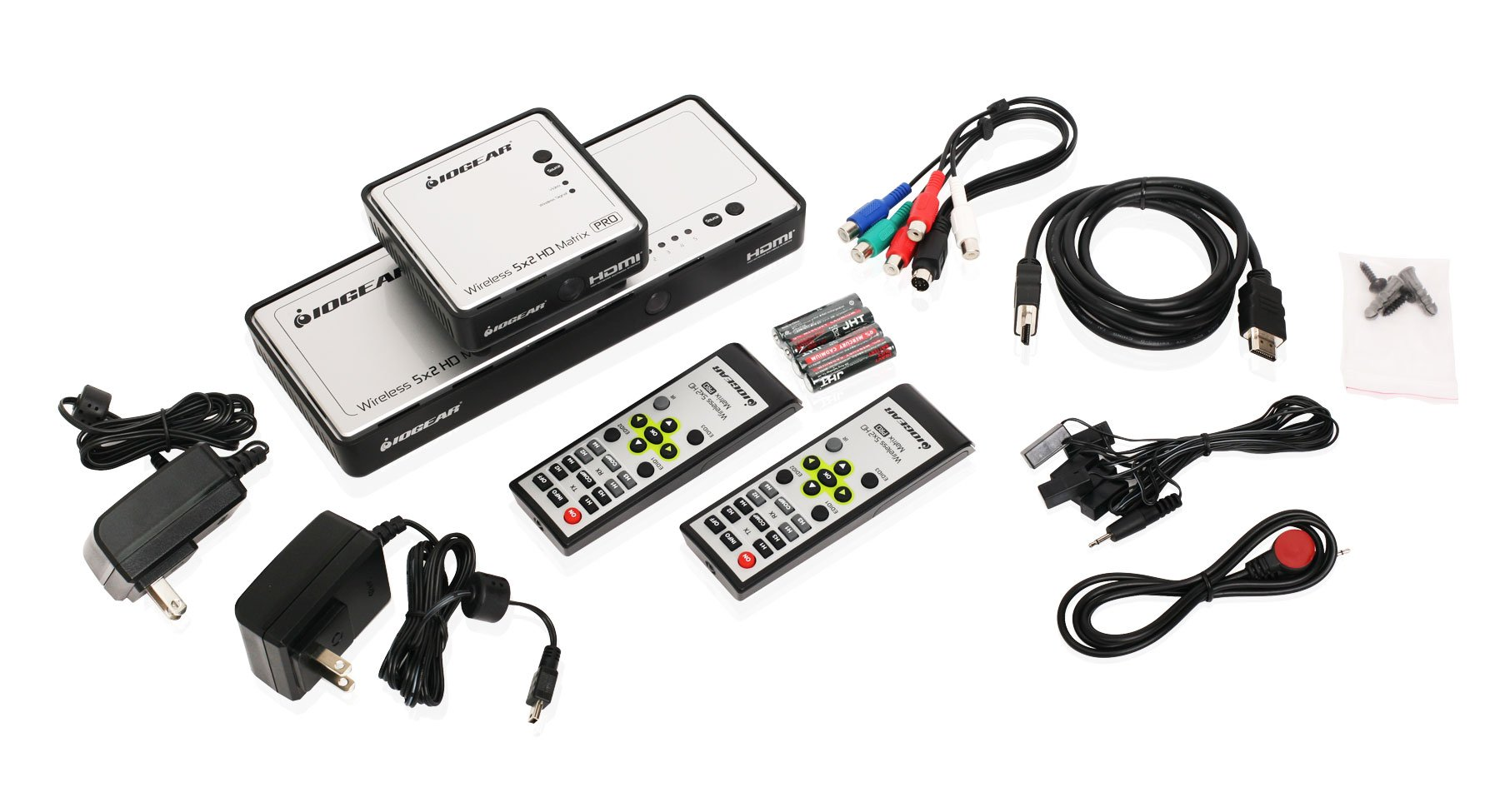 Long Range Wireless 5x2 HDMI Matrix PRO