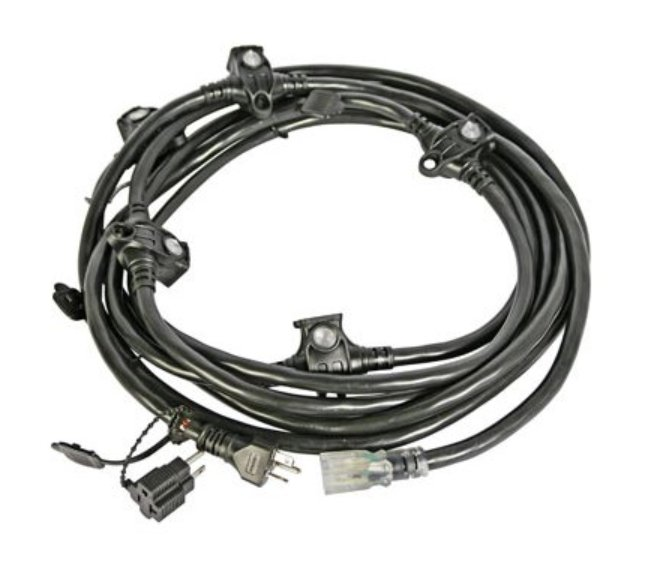 23' Multiple Receptacle Extension Cable