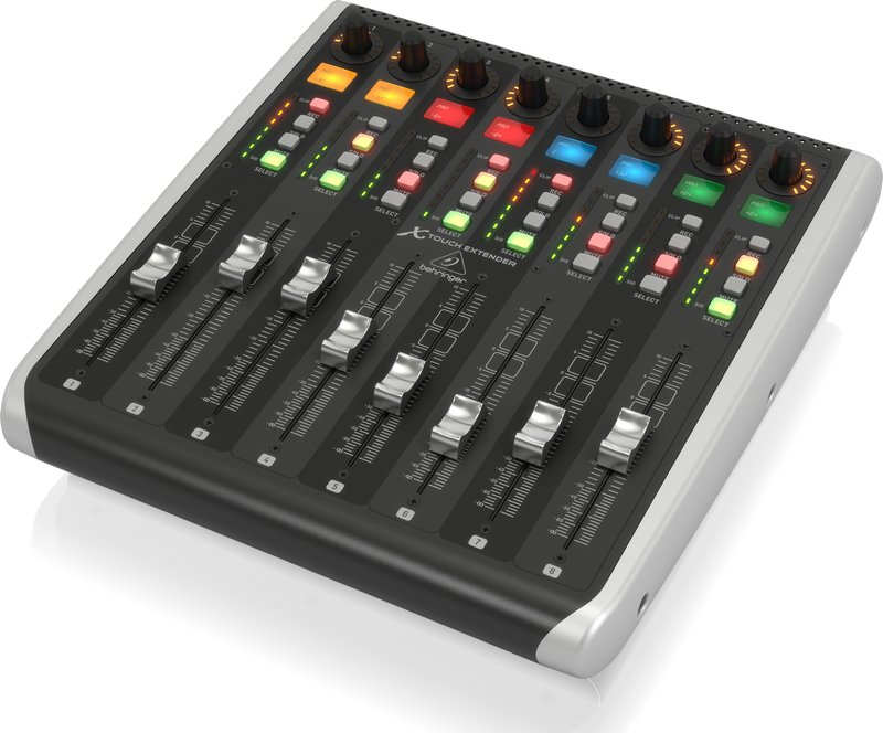 Control Surface with 8 Touch-Sensitive Motor Faders