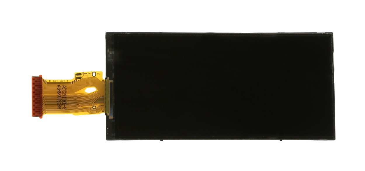 Glass LCD Cover with Ribbon Cable for GY-HM170U