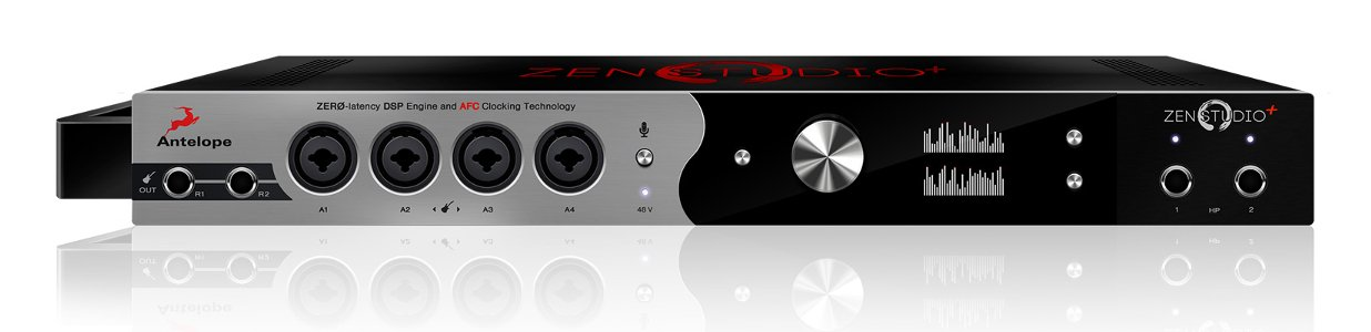 Antelope Audio Zen Studio+ Thunderbolt / USB Audio Interface with 12 Microphone Preamps ZEN-STUDIO+