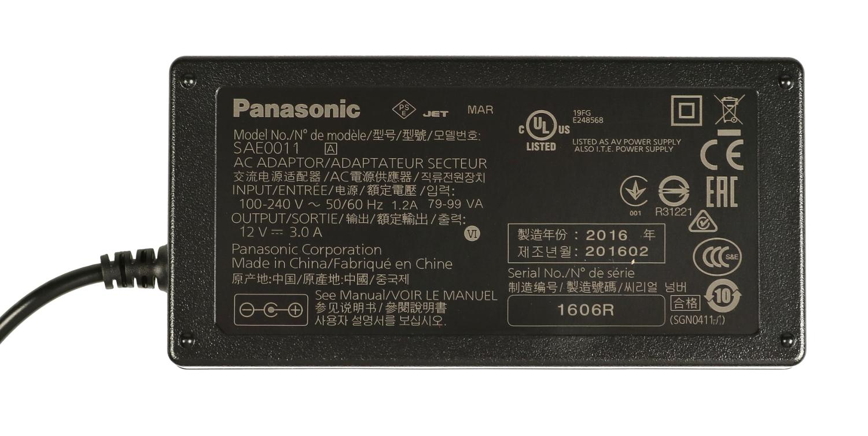 AC Adaptor for AG-DVX200
