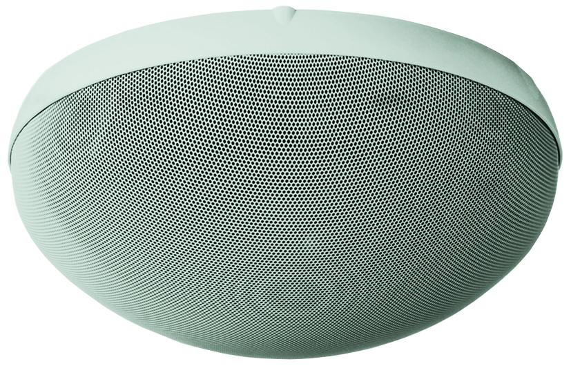 TOA H2EX H-2 2-Way Speaker, Wall/Ceiling Mount, 70V, White H2EX