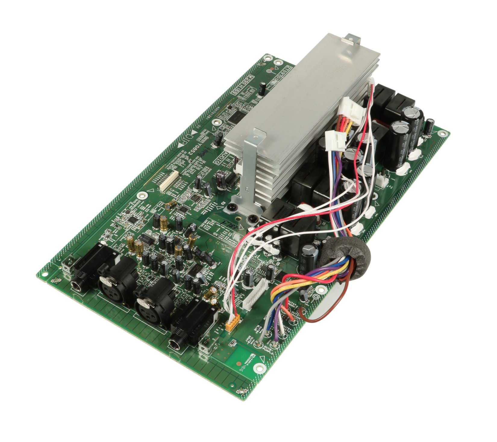 Audio Pcb Assembly For Px10 By Yamaha Zt096600 Full Compass Systems Printed Circuit Board