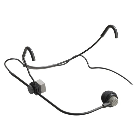Headworn Differoid Noise Canceling Cardioid Microphone for Vocals with XLR