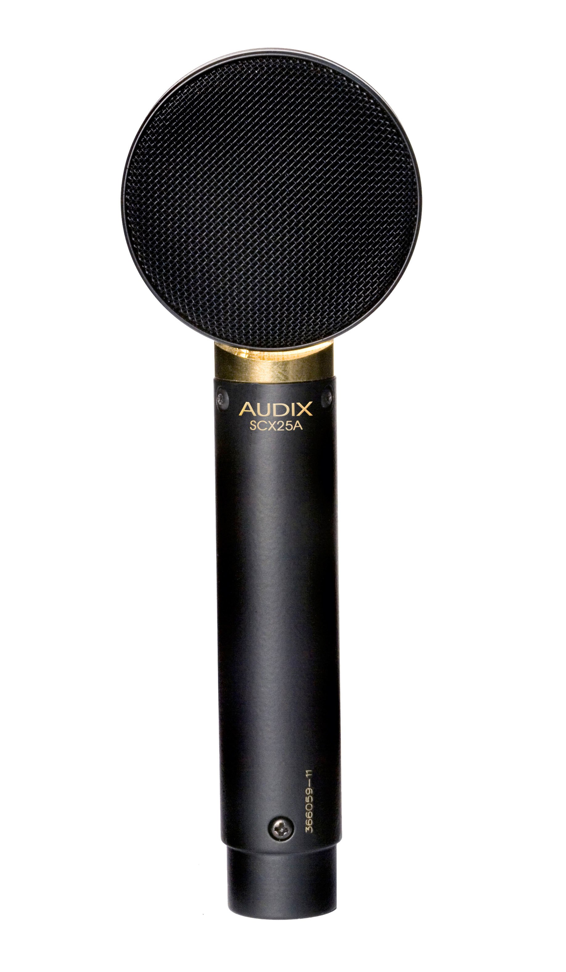 Large Diaphragm Condenser Microphone, Cardioid, Shock-Mounted Capsule, Low Profile Body