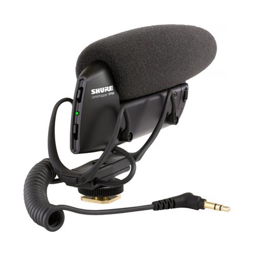 LensHopper Camera-Mounted Condenser Microphone